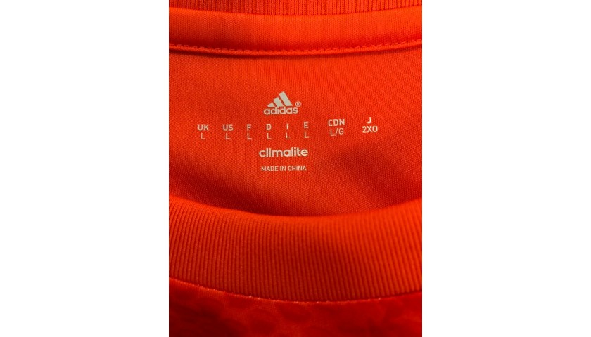 Courtois' Official Chelsea Signed Shirt, 2014/15