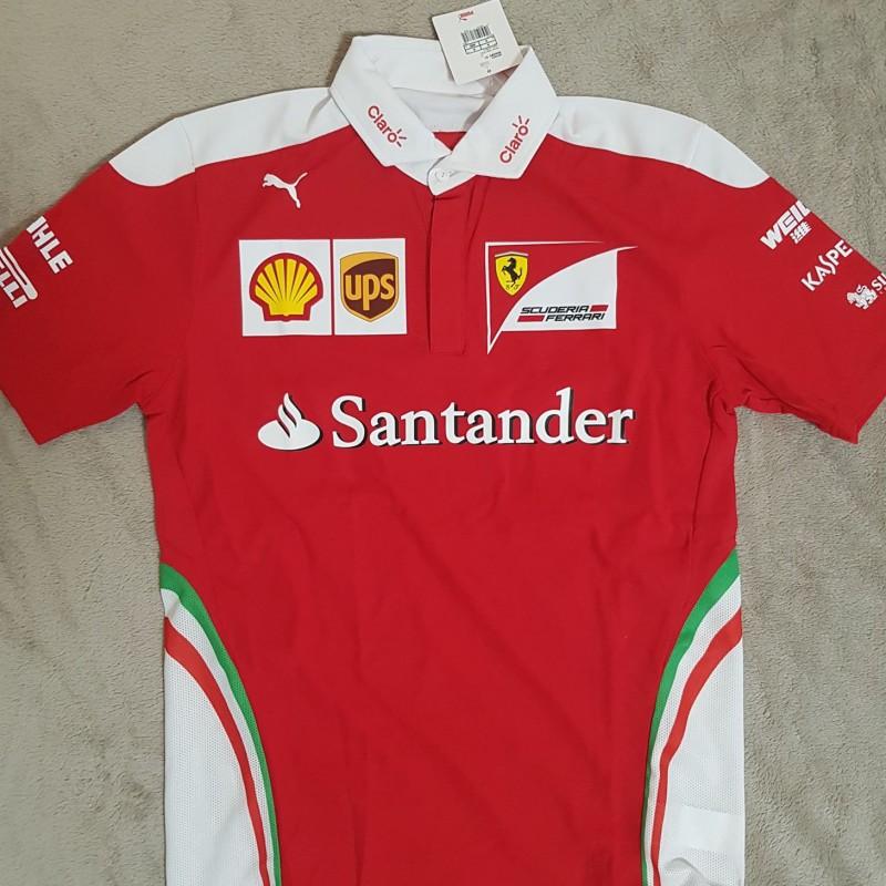 Official Ferrari Team Polo Shirt, 2016 Season