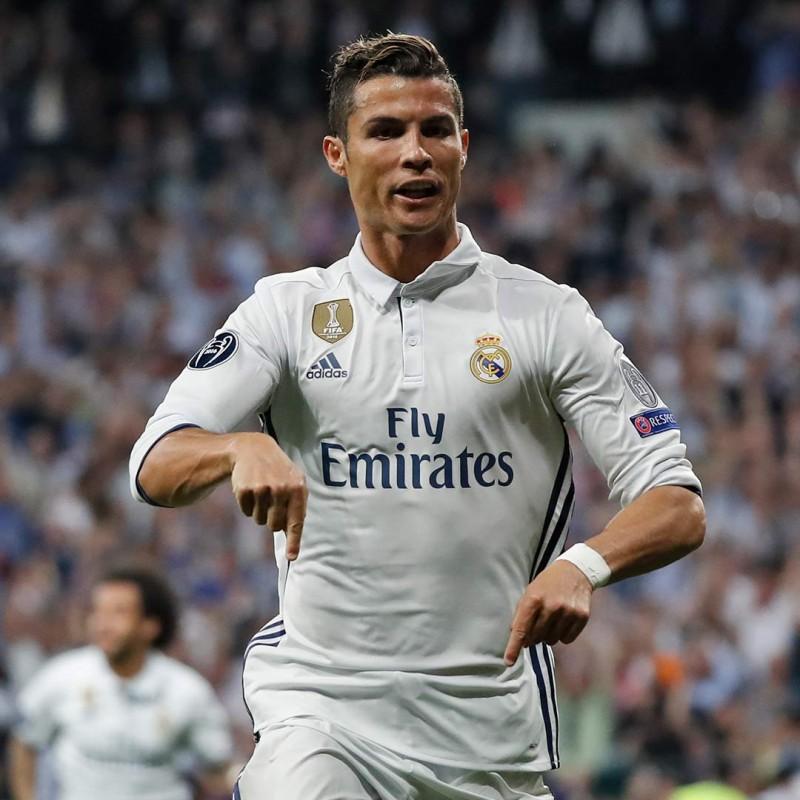 Ronaldo's Real Madrid Match-Issue/Worn Shirt, UCL 2016/17