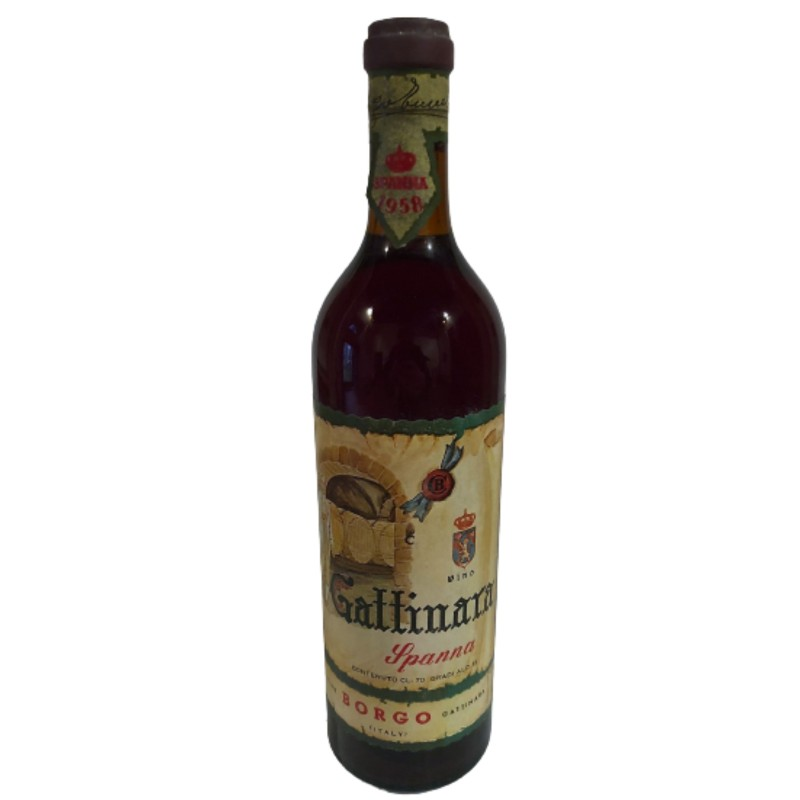 Bottle of Gattinara di Spanna, 1958  - Cantine Borgo