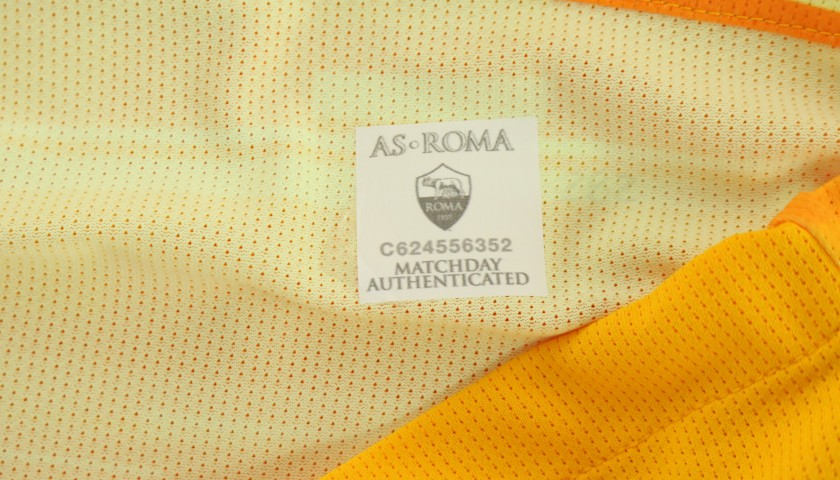Mirante's Issued and Signed Shirt, Roma-SPAL 2019