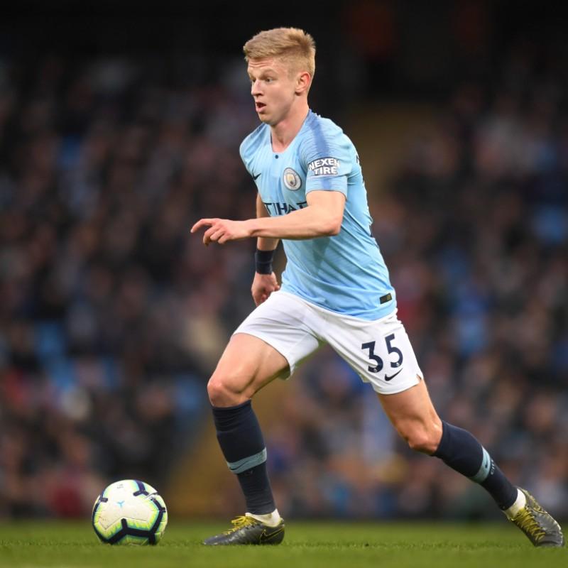 Zinchenko's Manchester City Kit, Premier League 2018/19