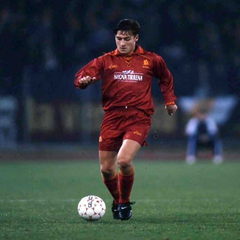 Totti's Roma Match Shirt, 1994/95
