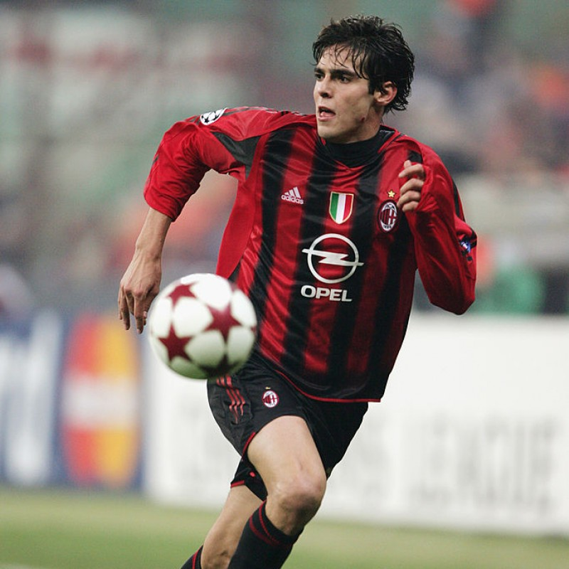 Kaká's Match-Issued/Worn Milan Shirt, UCL 2004/05
