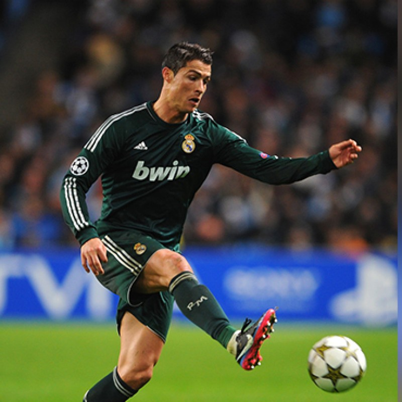 Maglia Ronaldo Real Madrid, preparata UCL 2013/14