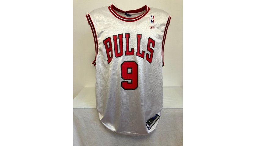 Luol Deng's Official Chicago Bulls Signed Jersey, 2004