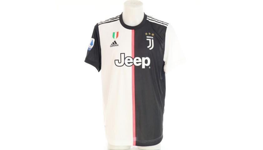 Chiellini's Authentic Juventus Signed Shirt, 2019/20