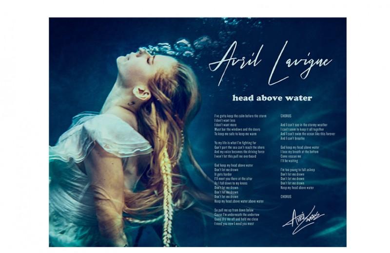 Signed Lyric Sheet