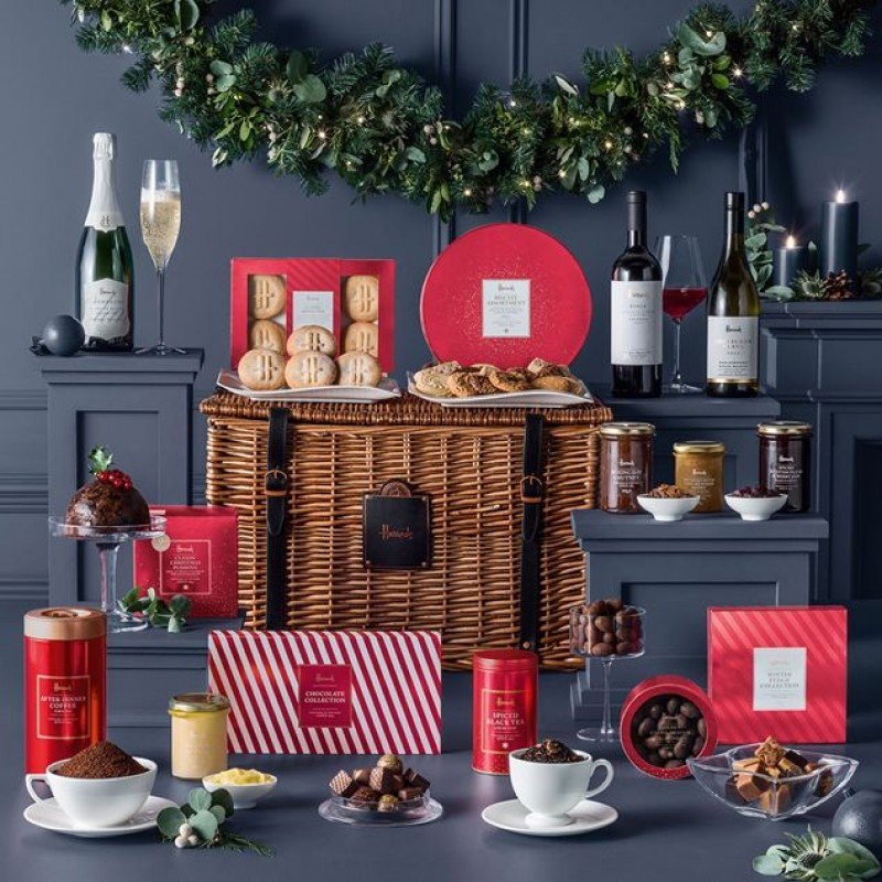 The Harrods Knightsbridge Christmas Hamper