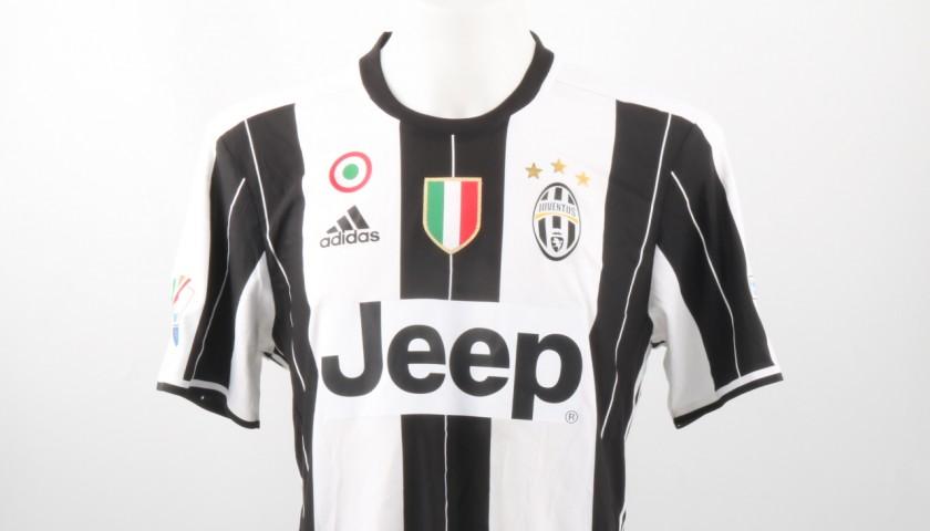 Rugani Match issued/worn Shirt, TIM Cup Final Juventus-Milan ...
