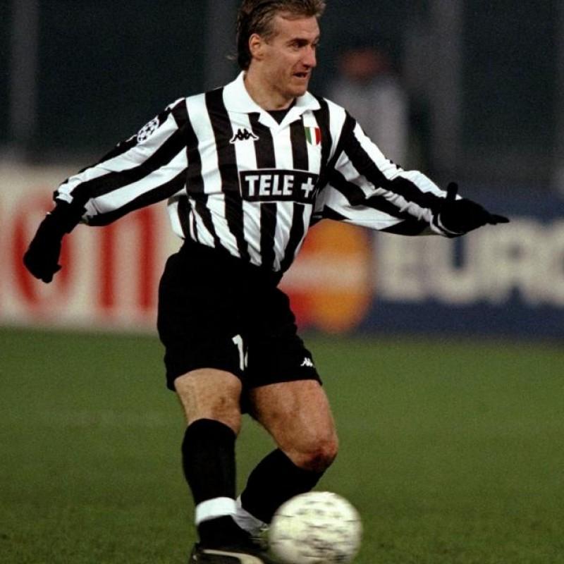 Maglia gara Deschamps Juventus, 1997/98