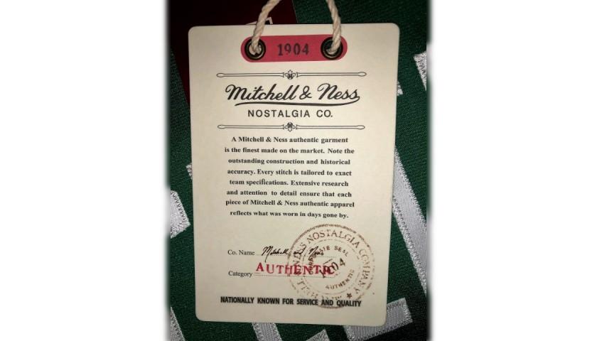 Larry Bird's Official Boston Celtics Signed Jersey, 1985/86