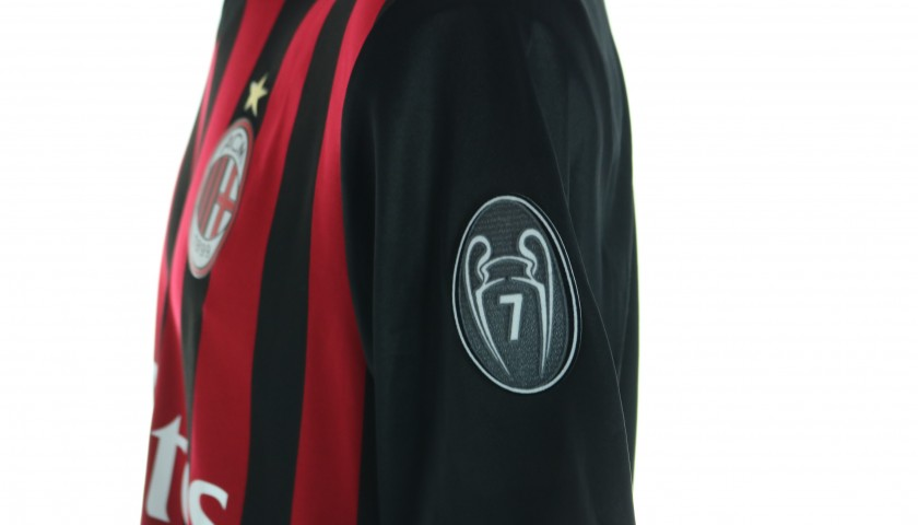 Suso's AC Milan Match Shirt, Serie A 2016/17