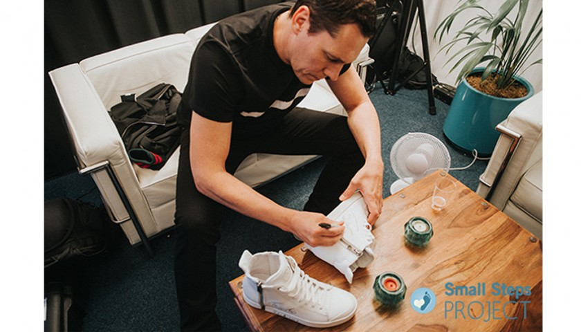 Tiesto Signed Shoes