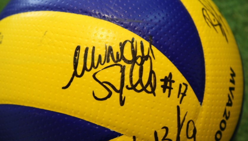 Pallone Ufficiale FIVB - Autografato dall'ItalVolley Femminile