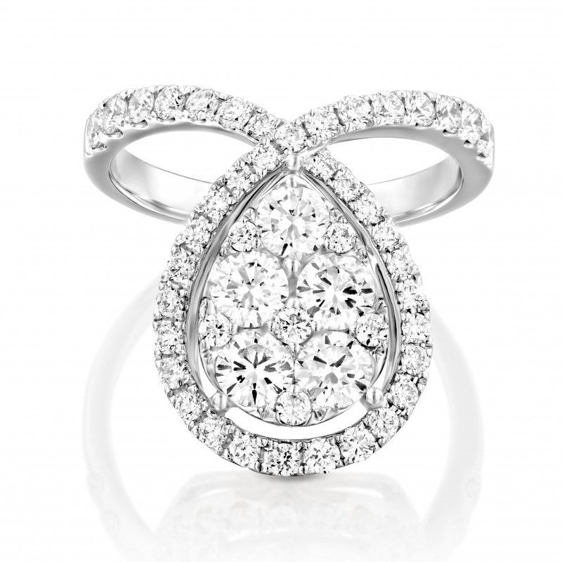 Stunning Diamond ring by House of Oliva