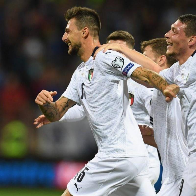 Acerbi's Italy Signed Shirt, 2019
