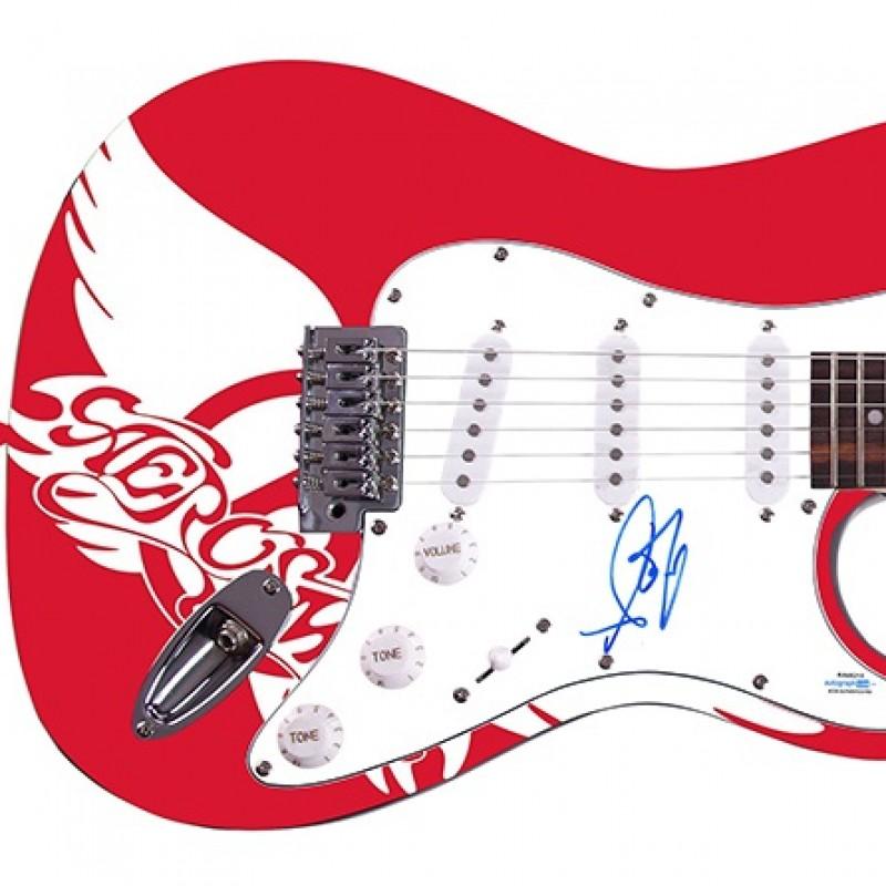 Aerosmith Guitar Hand Signed by Steven Tyler