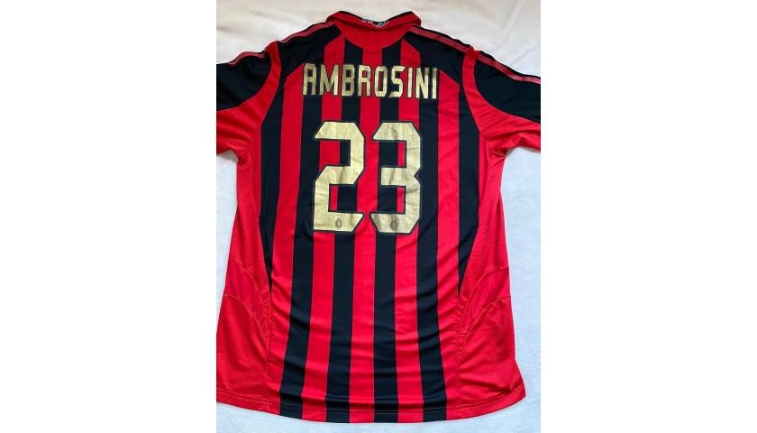 Ambrosini's Worn Shirt, Milan-Chelsea 2005