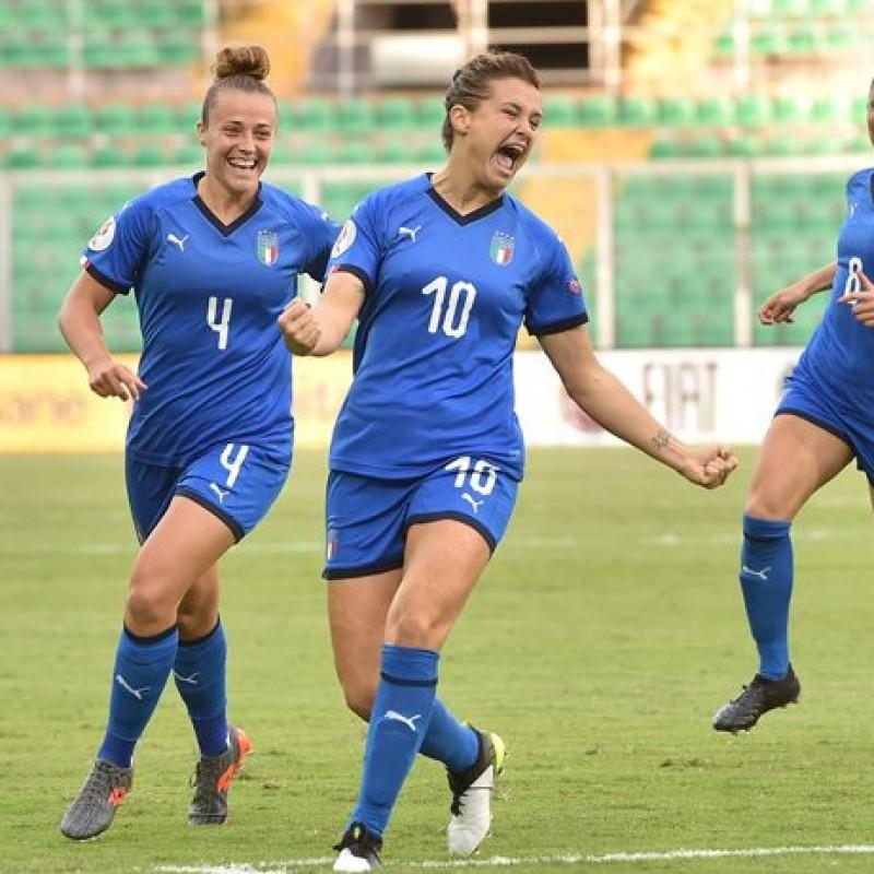 Girelli's Match Shirt, Italy-Bosnia 2019