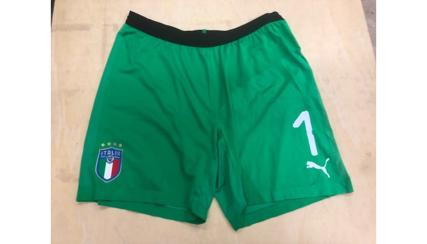 Buffon's Match Kit, Argentina -Italy 2018 + Captain's Armband