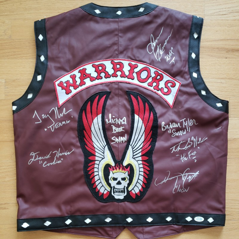 The Warriors Cast Signed Vest