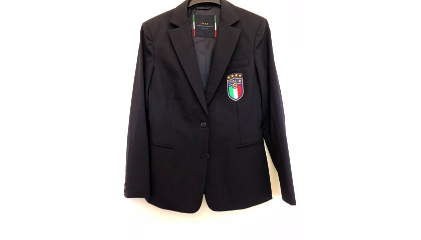 Italy Women's National Football Team Official Suit - Ermanno Scervino