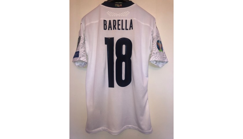 Barella's Match Shirt, Italy-Armenia 2019
