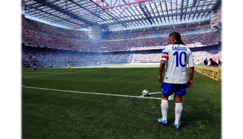 Baggio's Official Signed Shirt, Milan-Brescia 2004