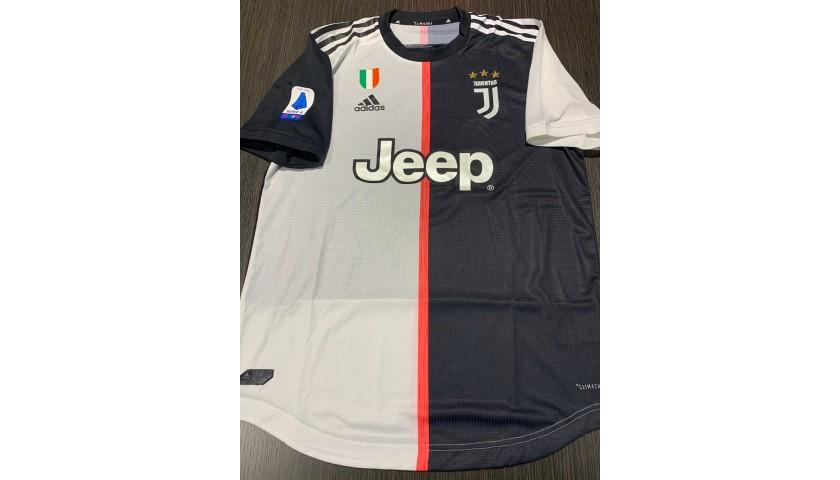 Maglia Gara Ronaldo Juventus, 2019/20 - Autografata dai giocatori