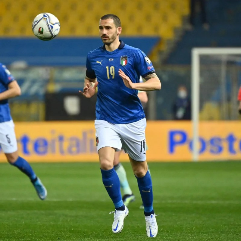 Bonucci's Match Shirt, Italy-Northern Ireland 2021