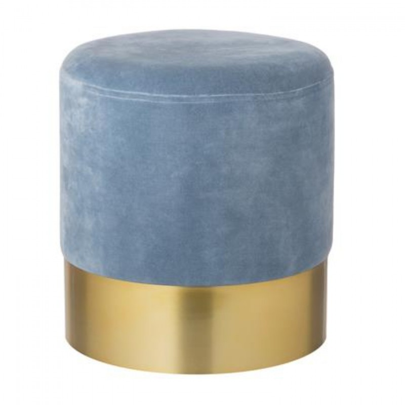 Harlow Westwing Collection Velvet Pouf