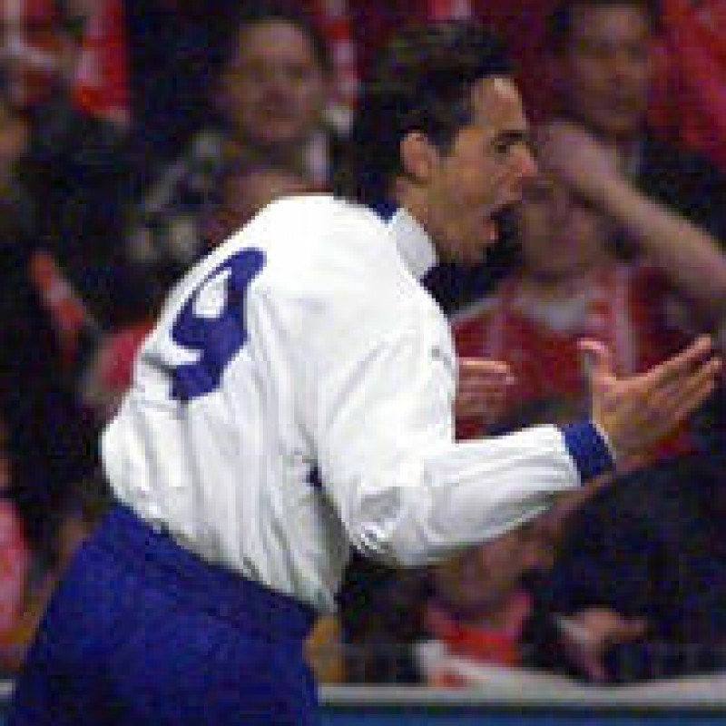 Inzaghi's Italy Match Shirt, Euro 2000 Qualifiers