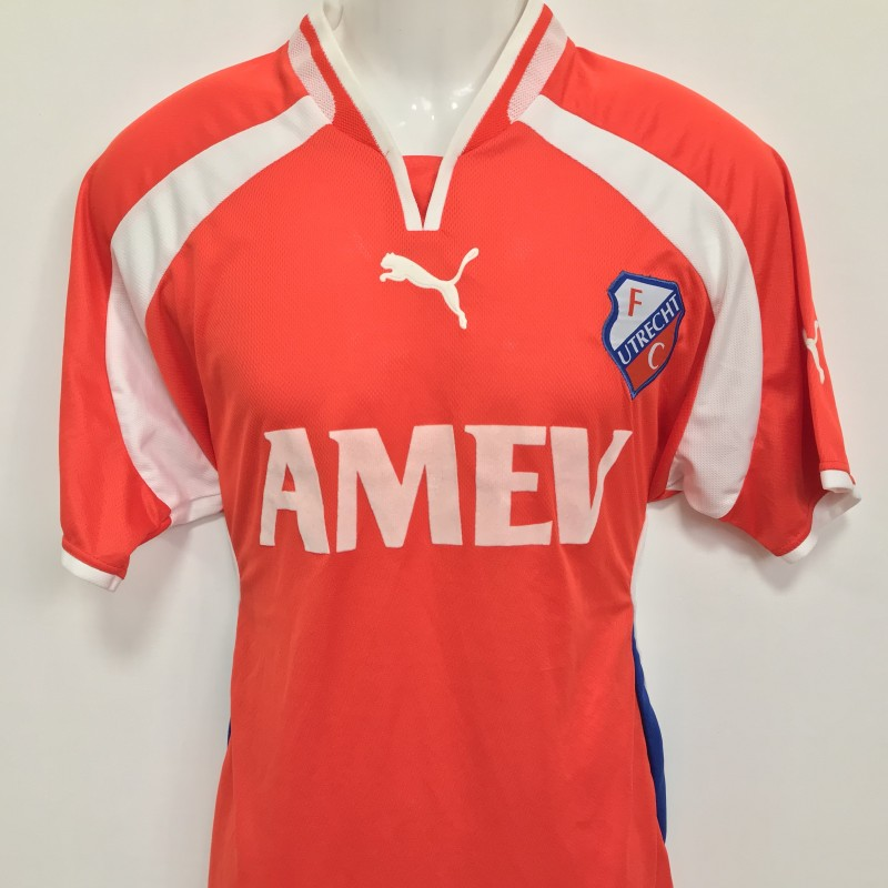 FC Utrecht Worn Shirt, Friendly Match 2002/2003