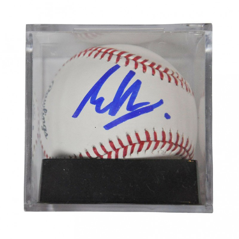 Eddie Van Halen Hand Signed Baseball