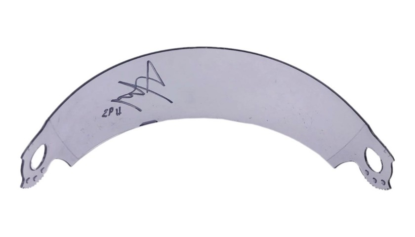 Visor Signed by Marc Marquez