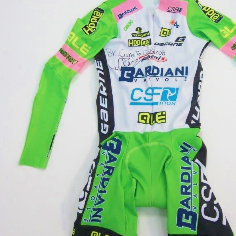 Marco Canola's  signed cycling suit