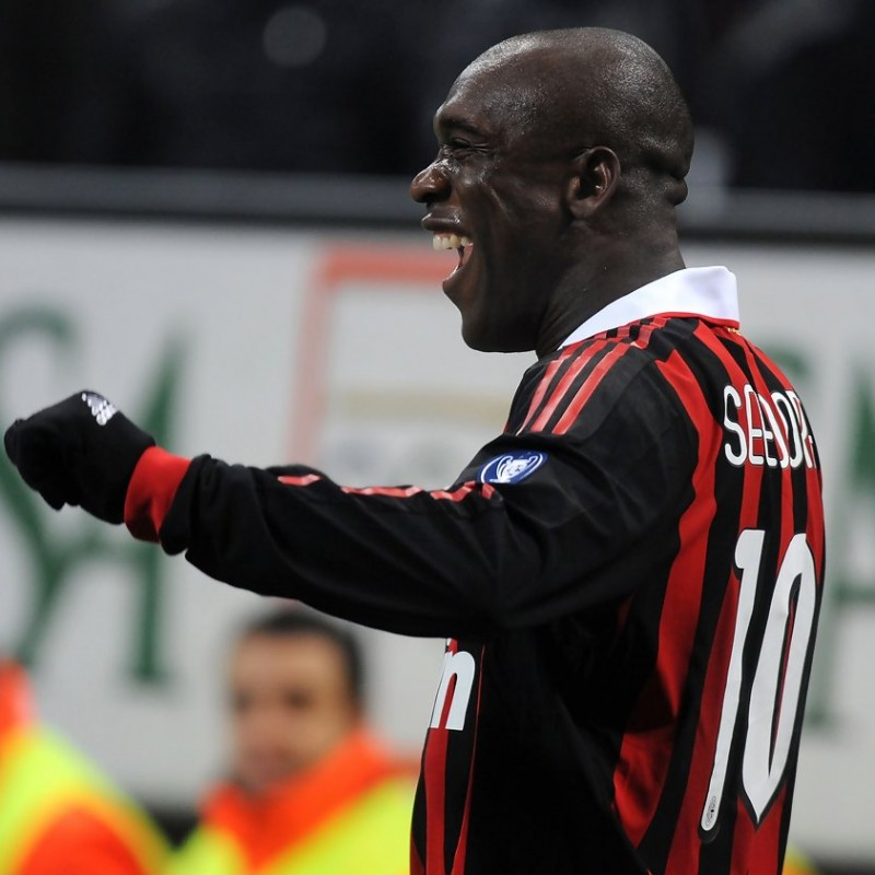 Seedorf's Match-Issued/Worn Milan Shirt, 2009 TIM Trophy