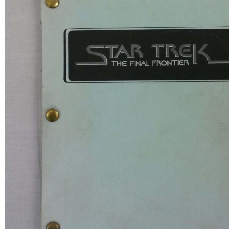 Star Trek V: The Final Frontier Shooting Script