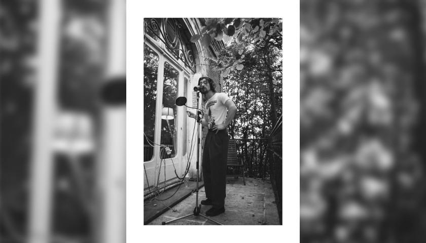 "Original Arctic Monkeys Signed Print ""Alex Ultracheese"" by Zackery Michael"