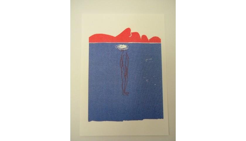 """Libera è"" Risograph Print by Arianna Vairo"