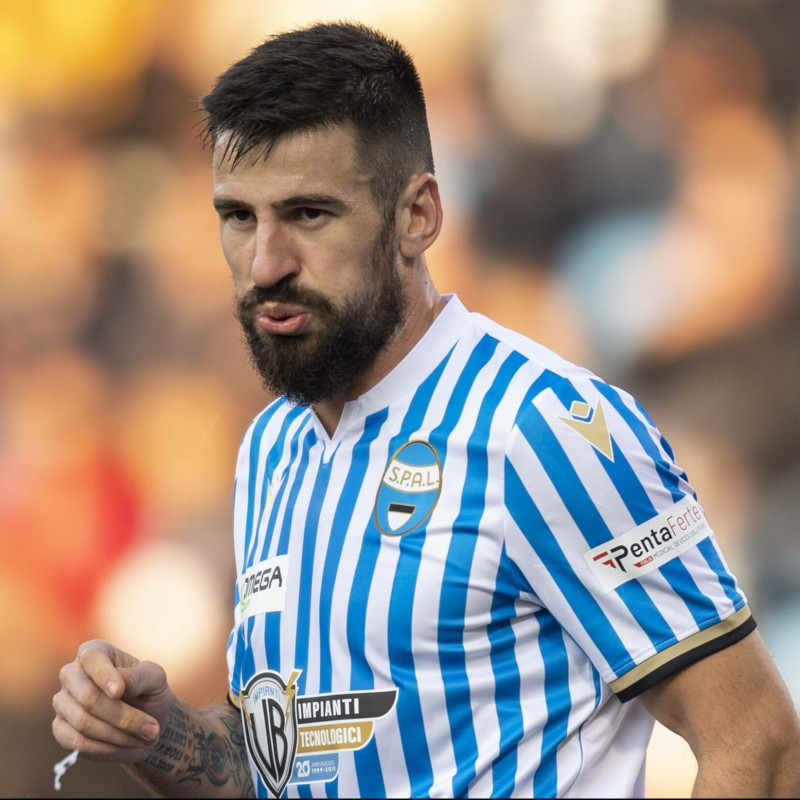 Tomovic's Match Shirt, Spal-Atalanta 2019