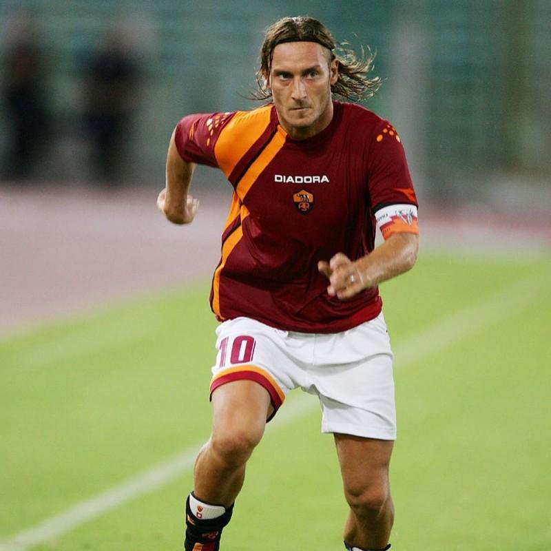 Maglia ufficiale Totti Roma, stagione 200% / 2006 Special Edition - autografata