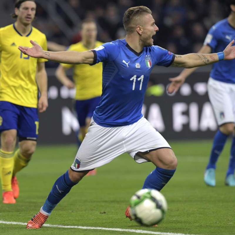 Immobile's Match Shorts, Italy-Sweden 2017