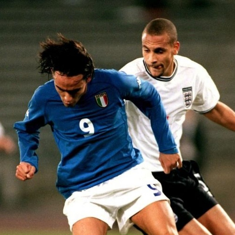 Inzaghi's Match Shirt, Italy-England 2000
