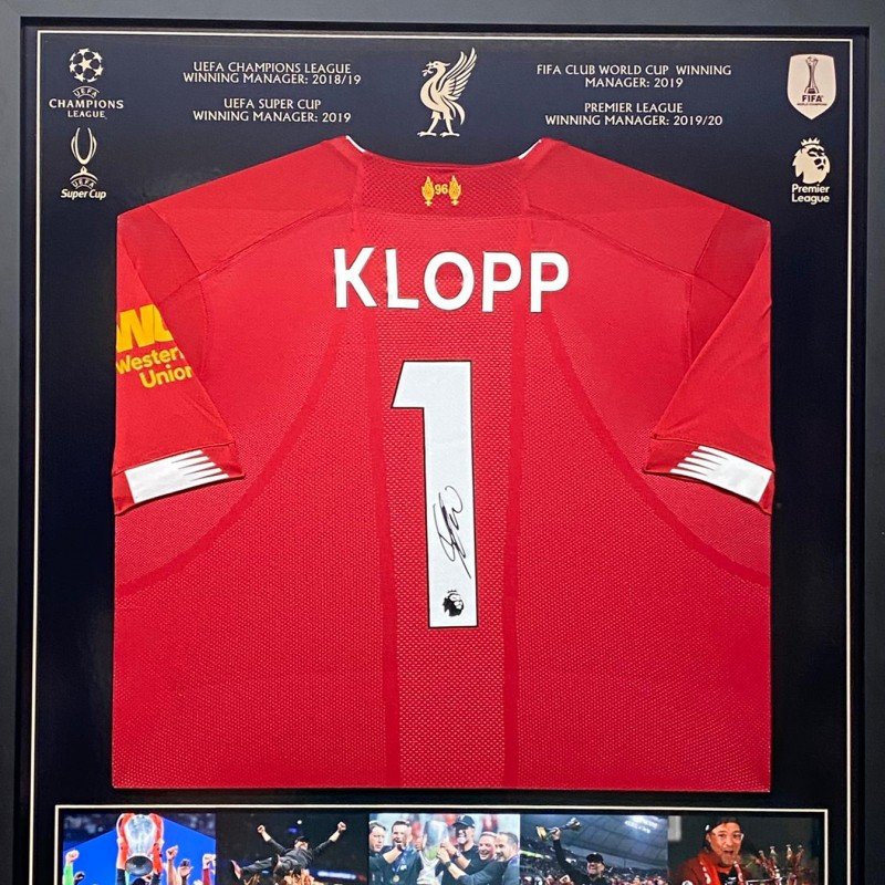 Klopp's Signed Liverpool Shirt