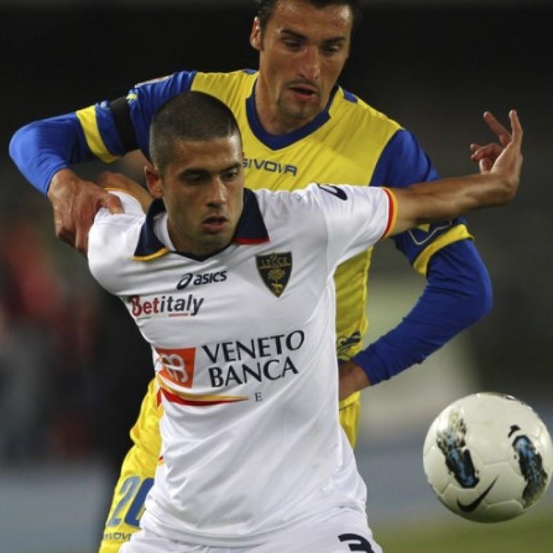 Di Matteo's Lecce Signed Match Shirt, 2011/12