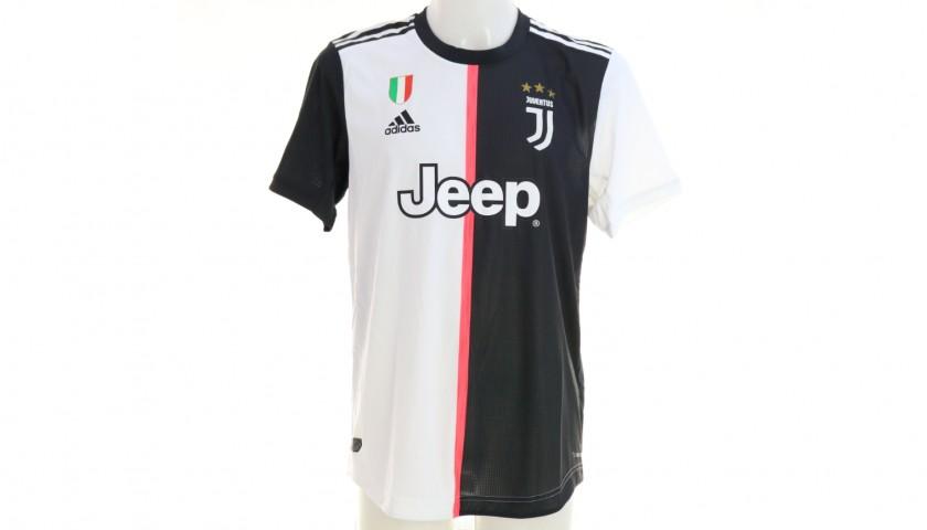 Douglas Costa's Authentic Juventus Signed Shirt, 2019/20