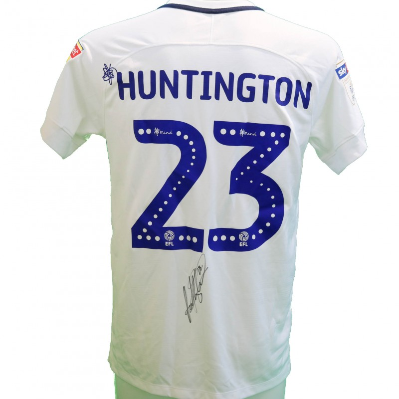 Huntington's Preston Worn and Signed Poppy Shirt