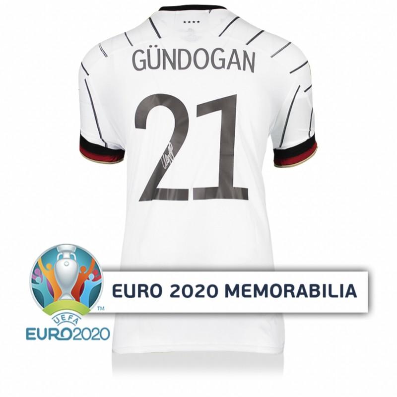Gundogan's Germany Signed Shirt - Official UEFA EURO 2020
